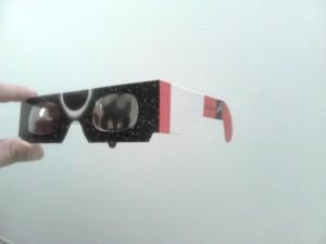 Gafa de protección para observar eclipse